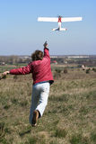Model airplane Stock Images