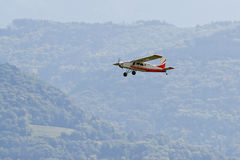 Model airplane royalty free stock images