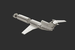 Model airplane. Royalty Free Stock Photography