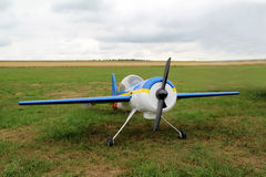 Model airplane royalty free stock photography