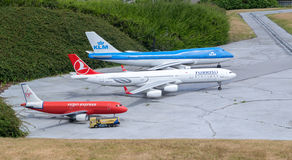 Model airplanes Stock Photography