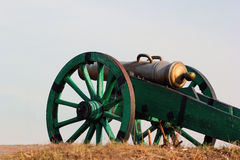 Model of ancient cannon Royalty Free Stock Images