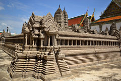 A model of Angkor Wat Royalty Free Stock Image
