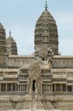 Model Angkor wata atEmerald Buddha świątynia Obraz Royalty Free