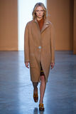 Model Annely Bouma walk the runway at the Derek Lam Fashion Show during MBFW Fall 2015 Stock Photo