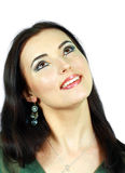 Model with arabic make-up Royalty Free Stock Photo