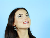Model with arabic make-up Stock Photos