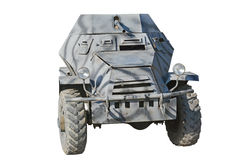 The model of armored car  WW2 Royalty Free Stock Photography