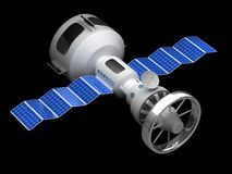 Model of an artificial satellite Stock Photo