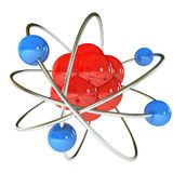 Model of the atom Royalty Free Stock Photos