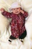 Model baby royalty free stock photos