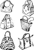 Model bags Royalty Free Stock Images