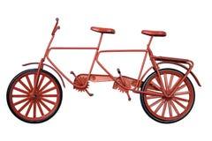 model banatandemcykel w Arkivbild
