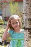 model barn Royaltyfria Foton