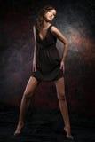 model barn för kvinnlig royaltyfri fotografi