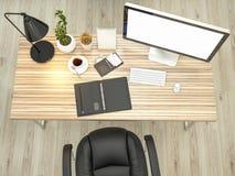 Model bedrijfsmalplaatje Hoge Resolutie Stock Foto's