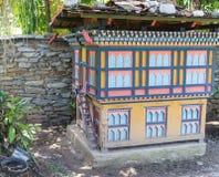 The model of bhutan  building Stock Photo