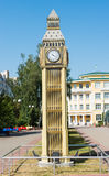 Model of Big Ben tower. The Model of Big Ben tower Stock Photography