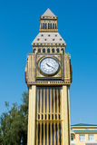 Model of Big Ben tower. The Model of Big Ben tower Royalty Free Stock Photo