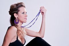 Model with bijou Stock Photos