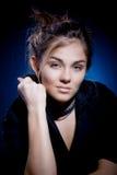 Model in black Stock Photography
