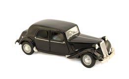 Model of the black car Stock Photos