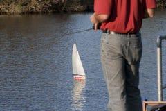 Model boat Royalty Free Stock Photo