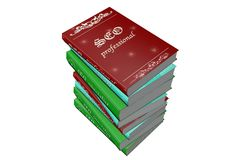 Model books royalty free stock photography