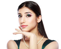 Model with bright make up Royalty Free Stock Photo