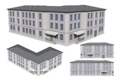 Model of the building Stock Photography