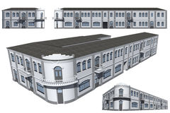 Model of the building Royalty Free Stock Images