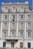 Model building in Piazza Unità d'Italy Trieste in Friuli Venezia Giulia (Italy) Royalty Free Stock Images