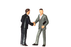 Model business figures D Stock Photo