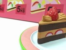 Model of cake sweet dessert. Stock Image