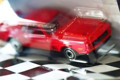 Model car scene. royalty free stock image