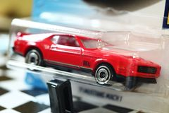 Model car scene. royalty free stock photography