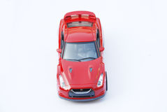 Model Car Top View Royalty Free Stock Images