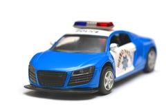 Model cars, police car Royalty Free Stock Photo