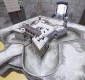 Model of of the castillo de la Real Fuerza. Stock Image