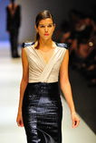 Model cat walking during Audi Fashion Festival Stock Photos