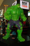 A model of the character Hulk from the movies and comics Stock Image