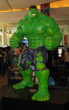 A model of the character Hulk from the movies and comics 2 Royalty Free Stock Image