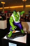 A model of the character Hulk from the movies and comics Royalty Free Stock Photos