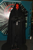 A model of the character Sith Lord from the movies and comics Royalty Free Stock Photos