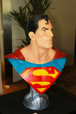 A model of the character Superman from the movies and comics 2 Royalty Free Stock Photos
