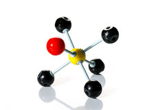 Model of chemical molecule Royalty Free Stock Photography