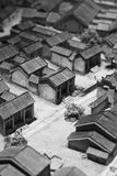 Model of chinese village Royalty Free Stock Photos