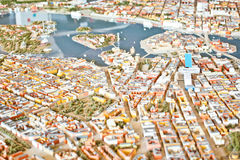 Model city Stock Images