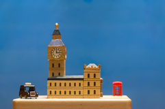 Model of the city of London Stock Photos