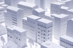 Model City Royalty Free Stock Images